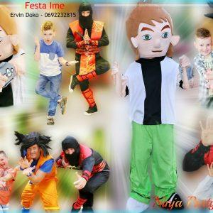 4 ninja party festa Ime